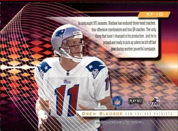 2000 Playoff Absolute - Extreme Team #XT10 Drew Bledsoe Back