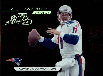 2000 Playoff Absolute - Extreme Team #XT10 Drew Bledsoe Front
