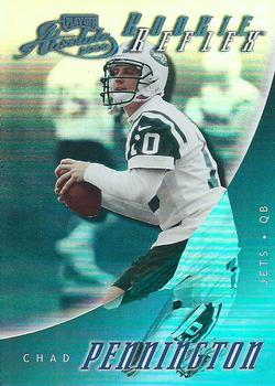 2000 Playoff Absolute - Rookie Reflex #RR8 Chad Pennington Front