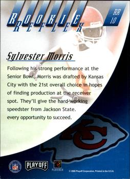 2000 Playoff Absolute - Rookie Reflex #RR10 Sylvester Morris Back