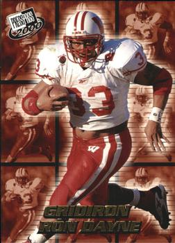 2000 Press Pass - Gridiron #3 Ron Dayne Front