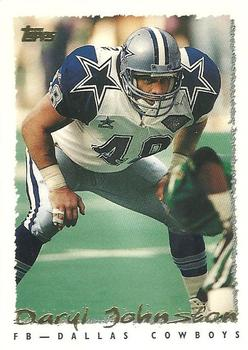 1995 Topps #62 Daryl Johnston Front