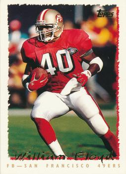 1995 Topps #70 William Floyd Front