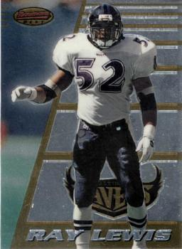 1996 Bowman's Best #164 Ray Lewis Front