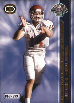 2001 Pacific Dynagon - Premiere Players #6 Josh Heupel Front