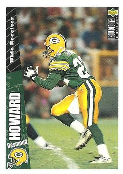 1996 Collector's Choice Update #U160 Desmond Howard Front