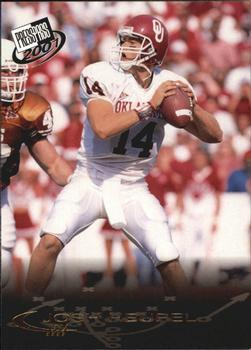 2001 Press Pass - Gold Zone #7 Josh Heupel Front