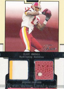 2002 Flair - Franchise Tools Memorabilia #16 Cliff Russell Front