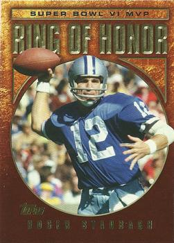 2002 Topps - Ring of Honor #RS6 Roger Staubach Front