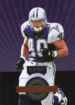 1996 Playoff Absolute - Prime Unsung Heroes #1 Bill Bates Front