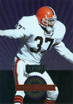 1996 Playoff Absolute - Prime Unsung Heroes #30 Bennie Thompson Front