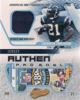 new styles 2d6e0 ffc6d LaDainian Tomlinson Gallery | The Trading Card Database