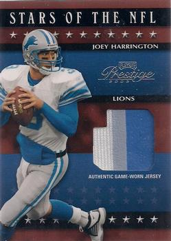 2003 Playoff Prestige - Stars of the NFL Jerseys #SN-10 Joey Harrington Front