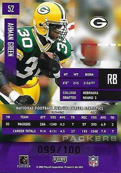 Ahman Green Gallery | The Trading Card Database