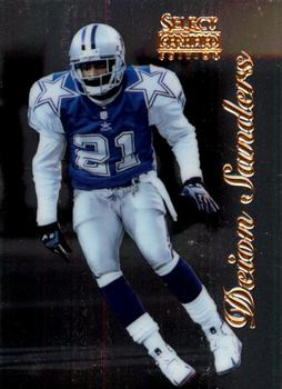 1996 Select Certified #48 Deion Sanders Front