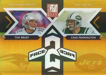 8008cf83760 2005 Donruss Elite - Face 2 Face Gold #CB-4 Tom Brady / Chad