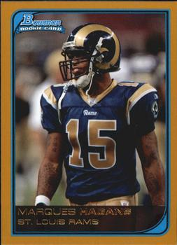 2006 Bowman - Gold #211 Marques Hagans Front