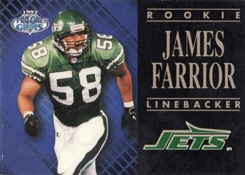 the best attitude 41dfc 4121f James Farrior Gallery   The Trading Card Database