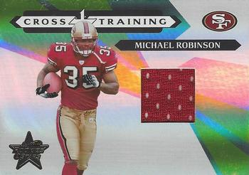 2006 Leaf Rookies & Stars - Crosstraining Materials #CT-26 Michael Robinson Front