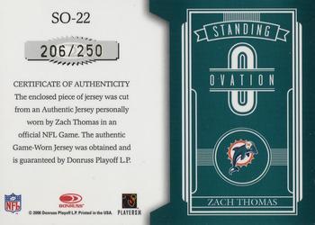 brand new dd312 95b9f Zach Thomas Gallery | The Trading Card Database