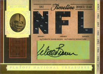 2006 Playoff National Treasures - Timeline Material Signature NFL #TL-WB Willie Brown Front