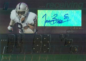 2006 Topps Paradigm - Career Highs Triple Jersey Autographs #TPCHRE-TIB Tim Brown Front