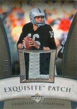 2006 Upper Deck Exquisite Collection - Patch Silver #EP-JI Jim Plunkett Front