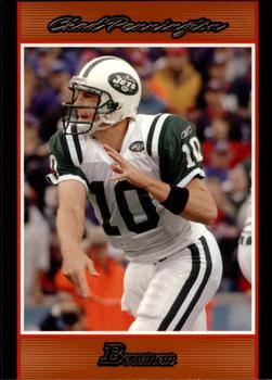 2007 Bowman - Orange #17 Chad Pennington Front