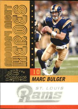 2007 Donruss Classics - Monday Night Heroes Gold #MNH-25 Marc Bulger Front