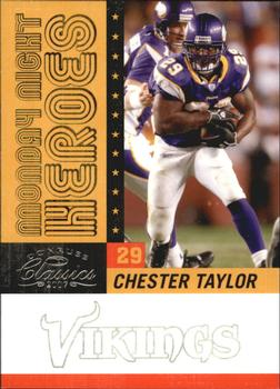 2007 Donruss Classics - Monday Night Heroes Silver #MNH-1 Chester Taylor Front