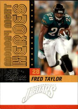 2007 Donruss Classics - Monday Night Heroes Silver #MNH-2 Fred Taylor Front