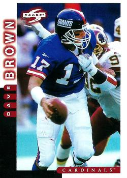1998 Score #163 Dave Brown Front