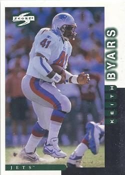 1998 Score #141 Keith Byars Front