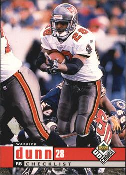 1998 UD Choice #255 Warrick Dunn Front