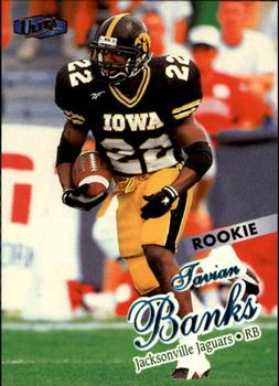 1998 Ultra #219 Tavian Banks Front