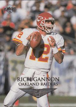 1999 Collector's Edge First Place #109 Rich Gannon Front