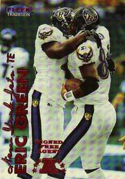 1999 Fleer Tradition #123 Eric Green Front