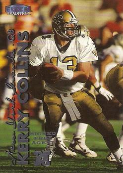 1999 Fleer Tradition #10 Kerry Collins Front