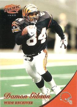 1999 Pacific #102 Damon Gibson Front