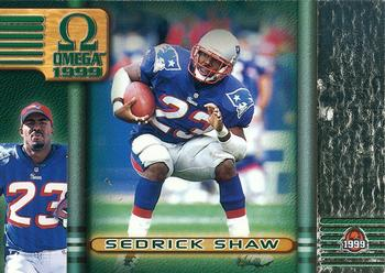 1999 Pacific Omega #62 Sedrick Shaw Front