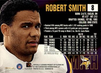 1999 SkyBox Dominion #8 Robert Smith Back
