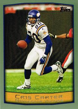 1999 Topps #10 Cris Carter Front