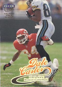 1999 Ultra #227 Dale Carter Front