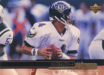1999 Upper Deck #181 Jim Harbaugh Front