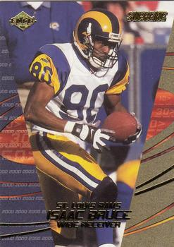 2000 Collector's Edge Supreme #113 Isaac Bruce Front