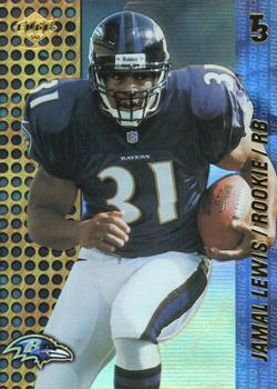 2000 Collector's Edge T3 #154 Jamal Lewis Front