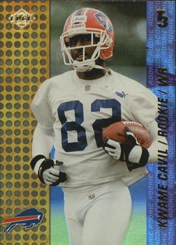 2000 Collector's Edge T3 #157 Kwame Cavil Front