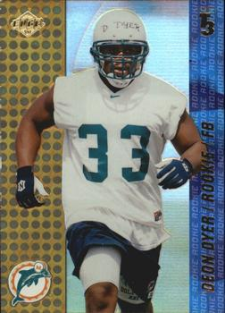 2000 Collector's Edge T3 #187 Deon Dyer Front