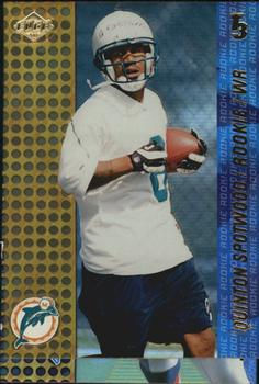 2000 Collector's Edge T3 #188 Quinton Spotwood Front