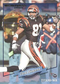 2000 Donruss #33 Carl Pickens Front